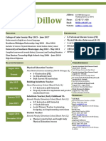 dillow mary - resume