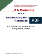 RMM CSF Report 2017-18