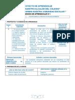 4° NOVIEMBRE - SESIONES PROYECTO.doc