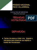 1.Técnicas histológicas