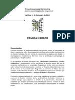 Morfometria La Plata 1º circular