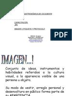 Memorias Ego Imagen Etiqueta Protocolo