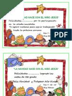 Diploma de Navidad