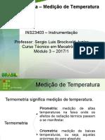 Aula - Medição de Temperatura