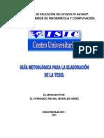 documento elaboración de tesis ISIC