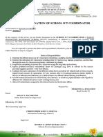 Designation Ict Coordinator NEW