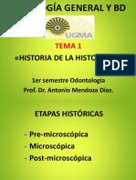 1- Historia de La Histología