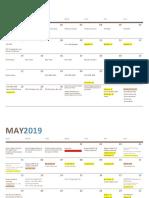 YFC 2019 Calendar of Activities Negros Occidental APR JUNE