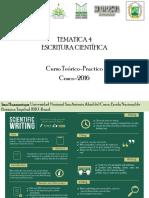 Tematica 3 Escritura Cientifica