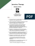 Michael White - Narrative Therapy.pdf