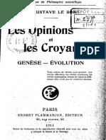 Le Bon, Gustave --  Les opinions et les croyances.pdf