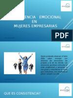 Consistencia Emocional en Mujeres Empresarias-- Evoluser !! - Copia