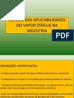 GERAÇÃO DE VAPOR