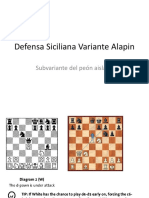 Defensa Siciliana Variante Alapin