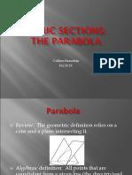 Conic Sections Parabolas FCIT Compat