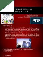 Grupos de Empresas y Corporativo