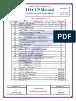 GP Foods - HACCP Manual