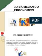 Capacitación de Riesgo Biomecanico y Ergonomíco Consorcio Sigma II