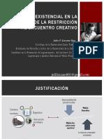 Analisis Existencial en La Escuela (Ponencia)
