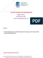 Gorwth and Development
