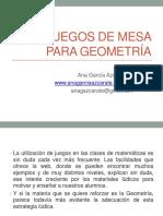 Juegos de Mesa Para Geometrc3ada