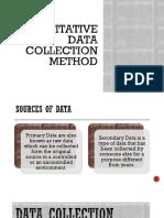 03 Handout 05 (Quantitative Data Collection Method 1)