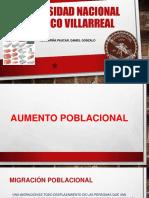AUMENTO POBLACIONAL-ECOLOGIA