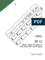 Digitech RP12