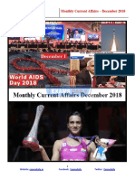 Current Affairs December Monthly Capsule 2018