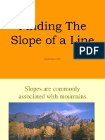 Finding the Slope of a Line.ppt