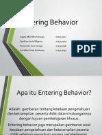 Strategi Pembelajaran_entering Behavior