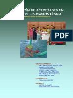 adaptación de actividades en el área de educación física