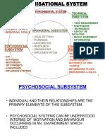 ORGANISATIONAL SYSTEM