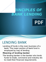 4. Principles of Bank Lending