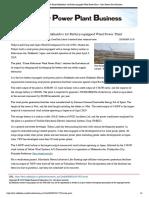 Wind Power Plant - Solar Power Plant Business