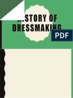 History of Dressmaking
