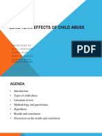 Sociology Report Long-term Effects of Child Abuse by Ali hassnain Comsats Lahore