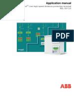 1MRK506178-UEN B en Application Manual Line High Speed Distance Protection Terminal REL531 2.5