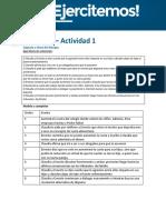 API 1 - Mediación