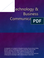 Technology & Business Communication