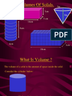 Volumes of Solids. (1)