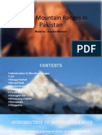 Top Ten Mountain Ranges in Pakistan