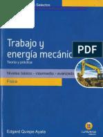 Trabajo y Energía Mecánica