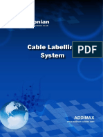 Cable Labelling Systems