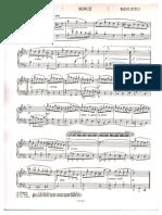 Bach d minor menuet
