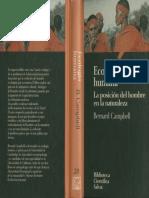 Bernard Campbell - Ecología Humana. La Posición Del Hombre en La Naturaleza