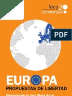 0020 FAES - Europa, Propuestas de Libertad