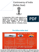 Rafale Deal Controversy of India