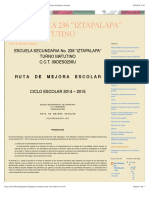 "Secundaria 236 ""Iztapalapa"" Turno Matutino"