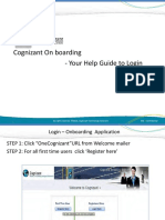 Login Onboarding Presentation